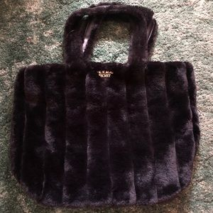 Furry Victoria Secret Bag